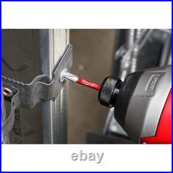 SHOCKWAVE Impact Duty Steel Driver Bit Set with Cobalt Drill Bit Set and Step Bi