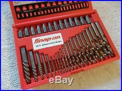 SNAP-ON 35 Pc. Screw Extractor/LH Cobalt Drill Bit Set