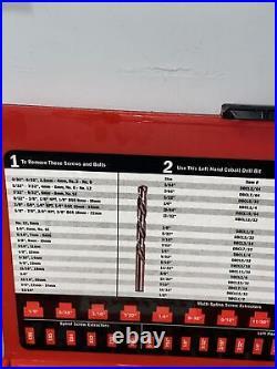 SNAP-ON 35 Pc. Screw Extractor/LH Cobalt Drill Bit Set EXD35
