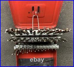 SNAP ON 60 pc Cobalt Wire Gauge Drill Bit Set