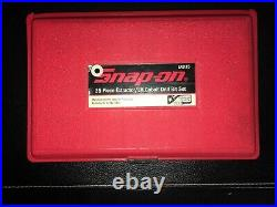 SNAP-ON EXD35 35 PC EXTRACTOR / LH COBALT DRILL BIT SET Made in USA