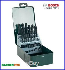STOCK0 BOSCH 25BIT HSS-R Promoline Metal Drill Bit Set 2607019446 3165140415644D