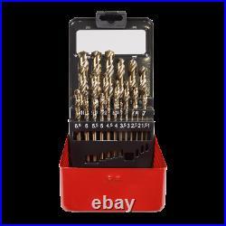 Sealey 25 Piece HSS-Co Drill Bit Set