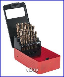 Sealey HSS Cobalt Split Point Drill Bit Set 25pc Metric AK4702