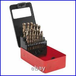 Sealey Hss Cobalt Split Point Fully Ground Drill Bit Set Ak4702