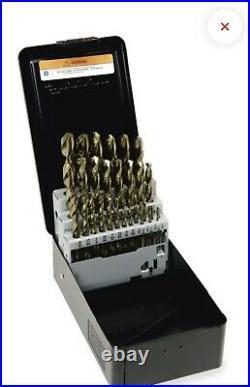 Snap On 29 pc Cobalt ThunderBit 135° Split Point Drill Bit Set (1/161/2)