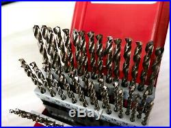 Snap On 60 Piece Cobalt Drill Bit Set DBC 260A
