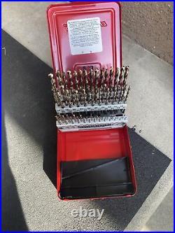 Snap On 60 Piece Cobalt Drill Bit Set NEW DBC260A