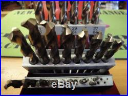 Snap On DBC 229A 29pc Cobalt Drill Bit Set Missing 6 Bits