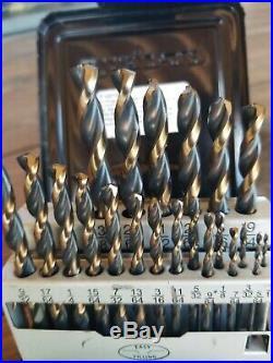 Snap-On DBTBC121 21 Piece High Speed COBALT ThunderBit Drill Bit Set 135° NEW