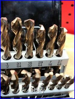 Snap-On DBTBC129 29 Piece High Speed COBALT ThunderBit Drill Bit Set Exc. Cond