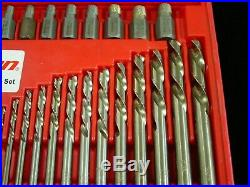 Snap-On EXD35 35Pc Screw Extractor/LH Cobalt Drill Bit Set Free Shipping