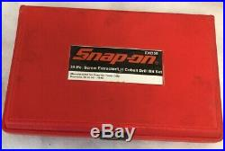 Snap On EXD35 35 Pc. Screw Extractor/ LH Cobalt Drill Bit Set