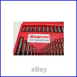 Snap On EXD35 35-Piece Screw Extractor/LH Cobalt Drill Bit Set