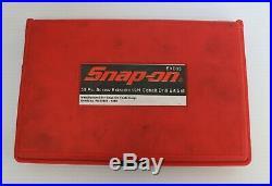 Snap On EXD35 35 Piece Screw Extractor / LH Cobalt Drill Bit Set