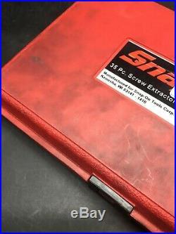 Snap On EXD35 35 Piece Screw Extractor / LH Cobalt Drill Bit Set 9090168-2