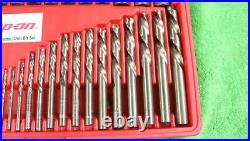 Snap-On EXD35 35pc Screw Extractor/LH Cobalt Drill Bit Set