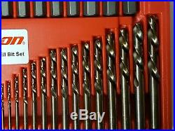 Snap On Exd35 35 Pc. Screw Extractor/lh Cobalt Drill Bit Set