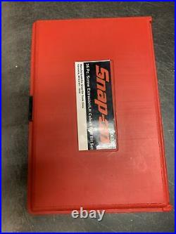 Snap On Exd35, 35pc Screw Extractor / LH Cobalt Drill Bit Set