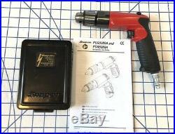 Snap On PDR3000A 3/8 Air Drill 21pc Cobalt ThunderBit Bit DBTBC121 Set Pneumatic