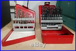 Snap On Tools 10 Piece H. S. Cobalt Drill-Extractor EXD10 & DB 160B 60 Drill