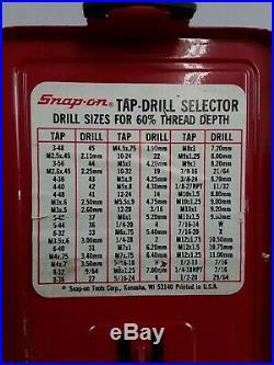 Snap-On Tools 29pc Cobalt Drill Bit Set, DBC229 FULL SET