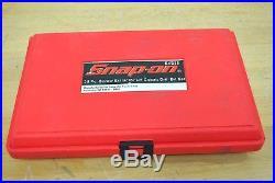 Snap On Tools 35pc Spiral Multispline Screw Extractor L/H Cobalt Drill Set EXD35