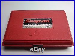 Snap-on 35 Piece Screw Extractor / Lh Cobalt Drill Bit Set