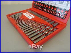 Snap-on 35pc. Screw Extractor / LH Cobalt Drill Bit Set (EXD35)