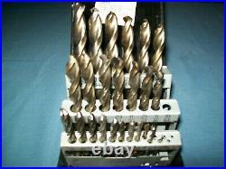 Snap-on DBTBC129 29 Piece High Speed COBALT ThunderBit Drill Bit Set 135° Used