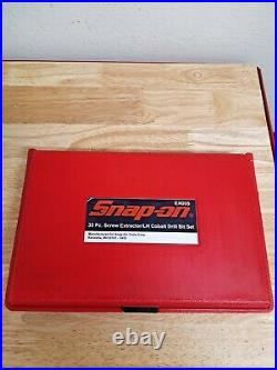 Snap-on EXD35 35-Piece Screw Extractor / LH Cobalt Drill Bit Set