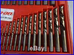 Snap-on EXD35 Screw Extractor LH Cobalt Drill Bit Set