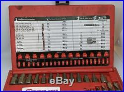 Snap-on Tools Screw Extractor Cobalt Drill Set Exd35 1 Missing 2 Broke