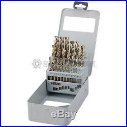 Straight Shank Twist Drill Set Drilling Tools Hss Cobalt 1 13 MM Fervi P069