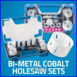 Sutton Holesaw Bi-metal Cobalt + Sets, Arbors & Pilot Drills For Wood & Metal
