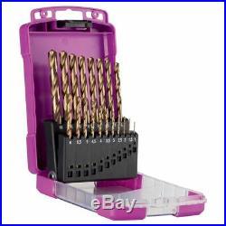 Sutton Tools 19-PIECE METRIC HSS-COBALT METAL DRILL BIT SET D109SM2 1-10mm