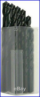 Sutton Tools 29-PIECE HEAVY DUTY COBALT HSS JOBBER DRILL SET D102SM8 1-13mm