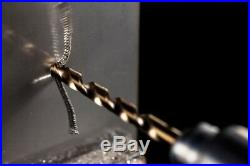 TERRAX 25pcs. Cobalt Drill Bit Set HSSE-Co5, 1.0 13.0mm in Metal Case