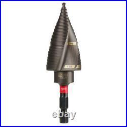 Titanium SHOCKWAVE Impact Duty Step Bit Kit with Cobalt Drill Bit Set (18-Piece)