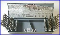 USA 54 PIECE Combination Cobalt Jobber Drill Set #A1-A0022