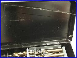 USED-M35 HSS+5% Cobalt Premium 115ps Drill Set, 1/16-1/2+#1 to 60+A to Z, 135Deg