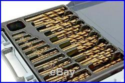 Welzh Werkzeug Cobalt Drill Bit Set 170-Piece Fully Ground 1mm to 10mm