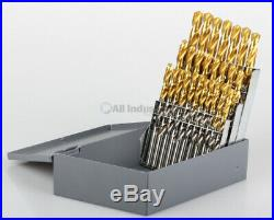 YG1 26 Pc. Cobalt Drill Set A-Z Straight Shank Split Point. Free Delivery