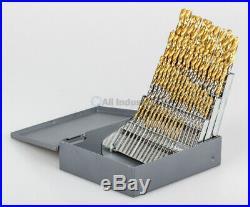 YG1 56 Pc. Cobalt Drill Set Wire #1-56 Straight Shank Split Point